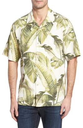 Tommy Bahama Cascara Fronds Classic Fit Silk Camp Shirt