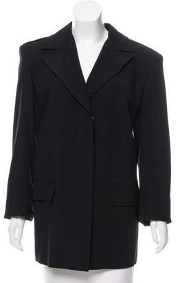 Gucci Wool Notch-Lapel Coat w/ Tags