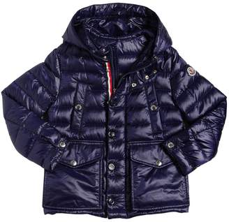 Moncler Yvan Hooded Nylon Down Jacket