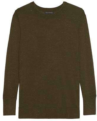Banana Republic Metallic Wool-Modal Sweater