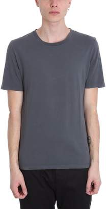 Maison Margiela Grey Cotton And Nylon T-shirt