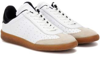 Isabel Marant Bryce leather sneakers