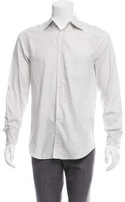 Brunello Cucinelli Checkered Button-Up Shirt