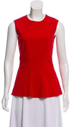 Stella McCartney Peplum Sleeveless Blouse