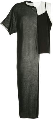 Y's panelled T-shirt dress