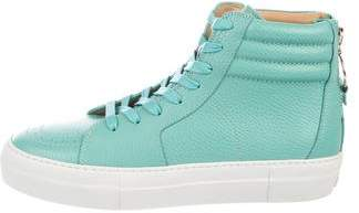 Buscemi 140MM High-Top Sneakers w/ Tags