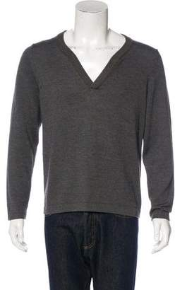 Billy Reid Wool V-Neck Sweater