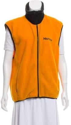Marmot Fleece Mock Neck Vest