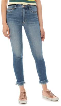 Sam Edelman The Stiletto Fringe Hem Crop Jeans