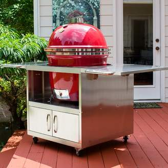 Grill Dome Stainless Steel Cart