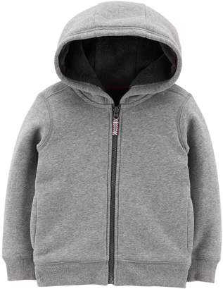 Carter's Baby Boy Velboa Lined Hoodie