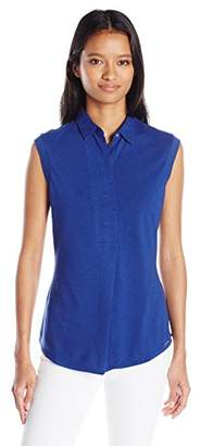 U.S. Polo Assn. Junior's Sleeveless Pullover Blouse