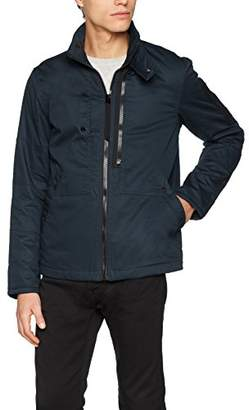 G Star Men's Rackam Utility Padded Overshirt L/s Jacket, (Legion Blue 862)