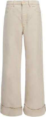 Marni Five Pocket Wide Leg Pants