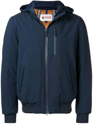 Invicta front zip hooded jacket