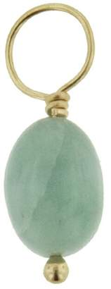 Heather B Moore Emerald Chunk Charm - Yellow Gold