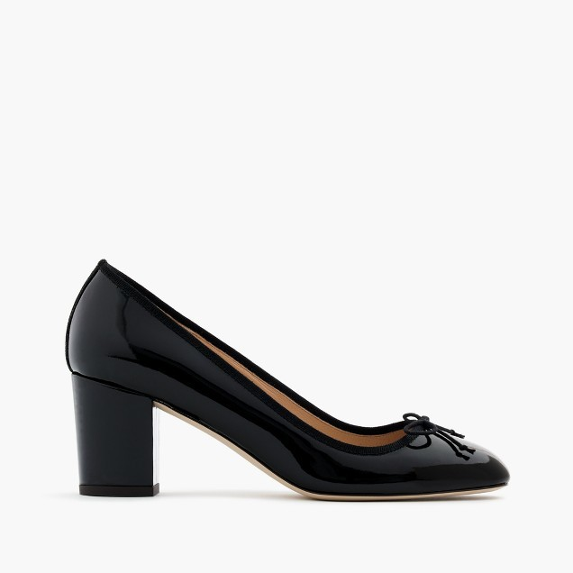 J.Crew Sophia pumps in patent leather