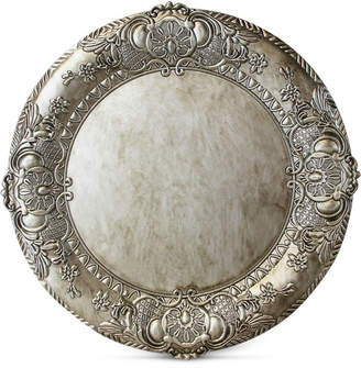 American Atelier Jay Imports Silver Embossed Charger Plate