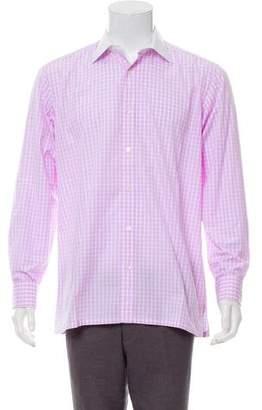 Charvet French Cuff Button-Up Shirt
