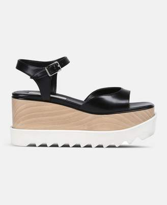 Stella McCartney black elyse sandals