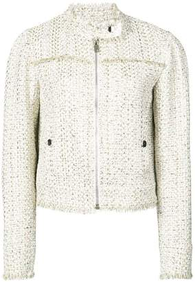 Giambattista Valli cropped tweed jacket