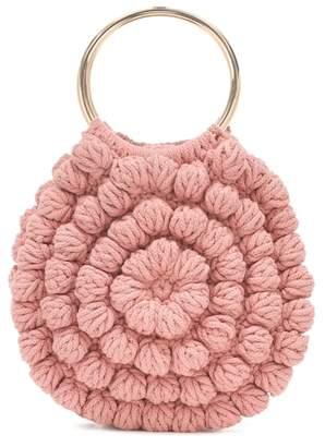 Ulla Johnson Lia crochet cotton tote