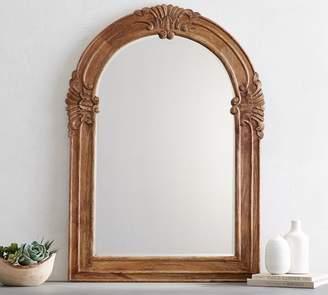 Pottery Barn Mendosa Arch Wood Mirror