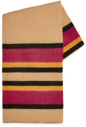 Topman Multi Stripe Blanket Scarf