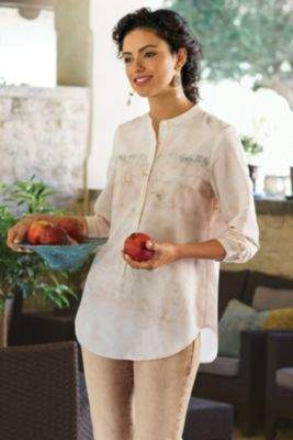 Soft Surroundings Adriana Shirt