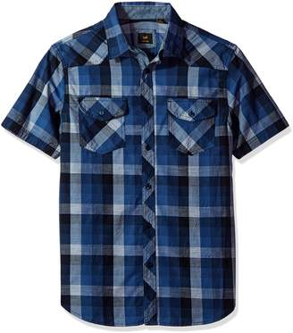 Lee Men's Short Sleeve Woven Shirt