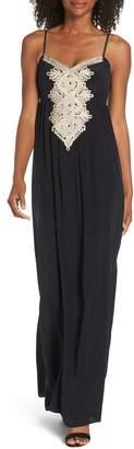 Lilly Pulitzer R) Kelsea Silk Maxi Dress