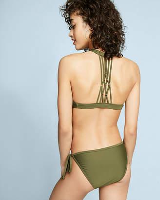 Express String Bikini Swim Bottoms