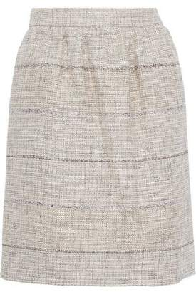 Alberta Ferretti Tweed Mini Skirt