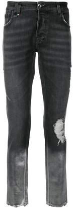 Philipp Plein gradient effect jeans