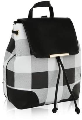 MKF Collection by Mia K Farrow Nashla Plaid Backpack