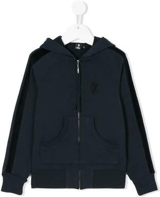 European Culture Kids zip-up hoodie