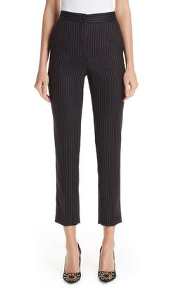 Dolce & Gabbana Pinstripe Stretch Wool Pants
