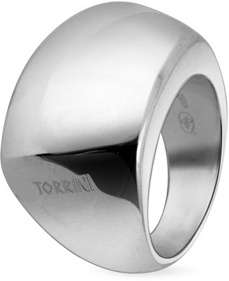 Torrini Trapezoidal Sterling Silver Ring