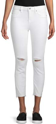Vigoss Women's Mid-Rise Straight Cropped Jeans