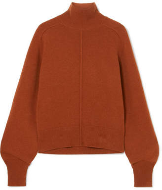 Chloé Cashmere Turtleneck Sweater - Brown