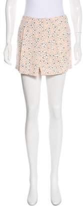 A.L.C. Silk Floral Shorts