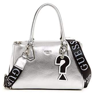 GUESS Felix Metallic Small Girlfriend Satchel