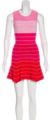 Torn By Ronny Kobo Colorblock A-Line Dress