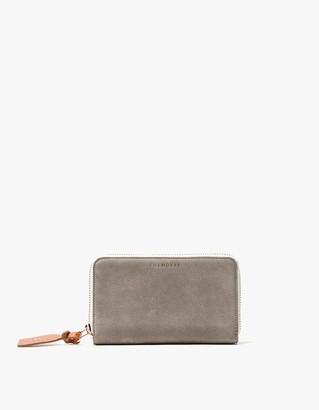 Block Wallet in Grey Nubuck $129 thestylecure.com