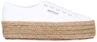 Superga 40mm Canvas Platform Sneakers