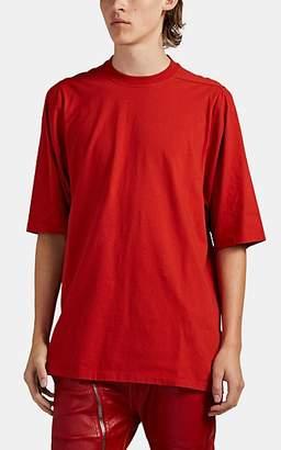 Rick Owens Men's Oversized Cotton T-Shirt - Red