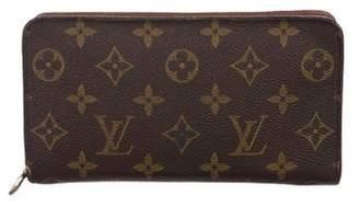 Louis Vuitton Monogram Zippy Compact Wallet