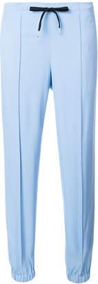 Ermanno Scervino cropped stripe trousers