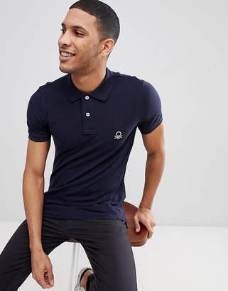 Benetton Muscle Fit Polo