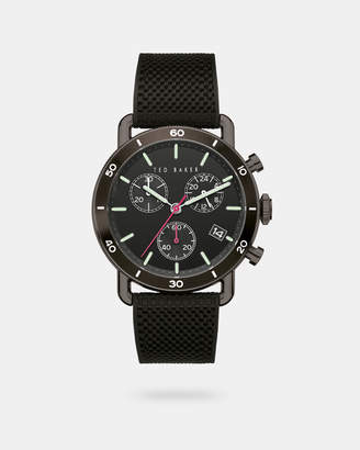 Ted Baker MAGARIB Silicone strap watch